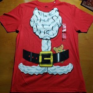 🆕️Santa Claus Costume Shirt - Medium - NEW🆕️